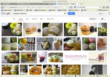 margarita macaron google