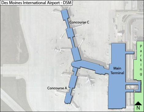Des-Moines-DSM-terminal-map