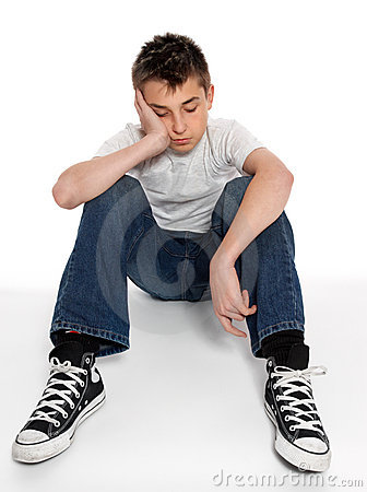 sad-loney-depressed-or-listless-boy-sitting-thumb11577995
