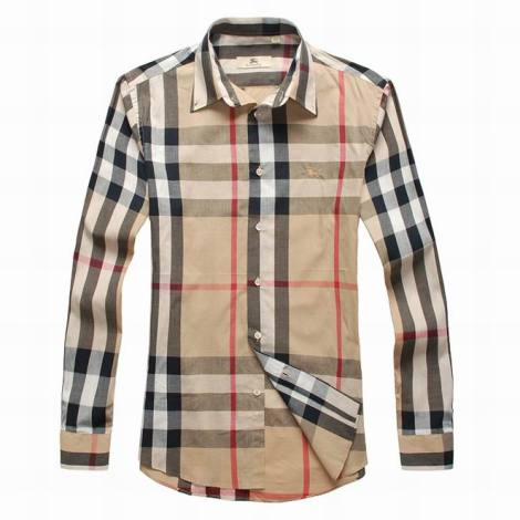 Burberry cotton shirt S-XXXL khaki