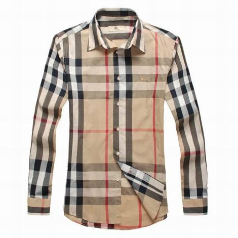Burberry cotton shirt S-XXXL khaki
