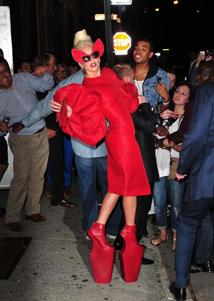 <> on September 12, 2011 in New York City.