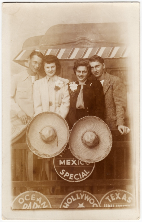 Betty & Tom Loggan & Wayne Orr & Friend On Mexico Special