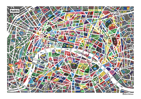 Paris-Illustrated-Map_Antoine-Corbineau_Full-550px