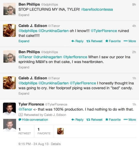 Tyler Florence Feud
