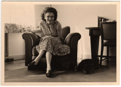 Betty In Chair - Front