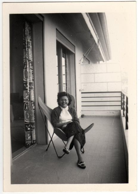 Betty On Balcony 3