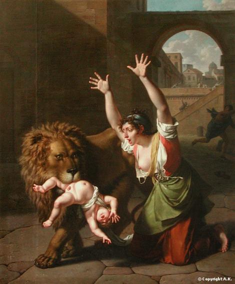 Monsiau,_Nicolas-André_-_Le_Lion_de_Florence_-_1801