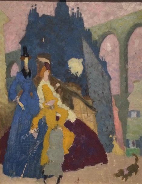 """""""Arcueil 1"""" by Lyonel Feininger"""