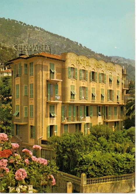 Hôtel Ker-Maria Painting - Front