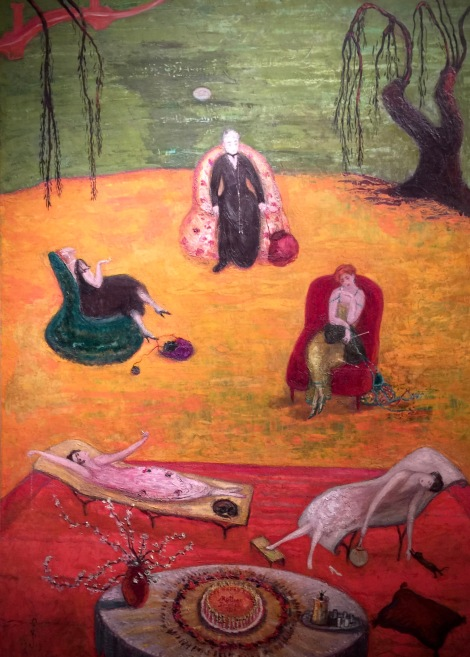 """Heat"" by Florine Stettheimer."