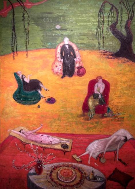 """""""Heat"""" by Florine Stettheimer."""