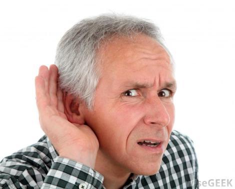 man-listening