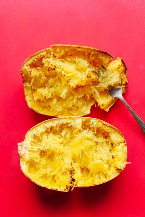 how-to-roast-spaghetti-squash-in-the-oven-perfect-for-noodle-and-gluten-free-pastas-stir-fries-and-more-vegan-plantbased-glutenfree-spaghetti-squash-recipe-3